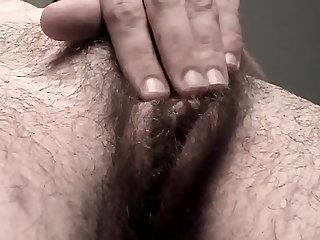 Close-ups Hairy Pussy Pushin