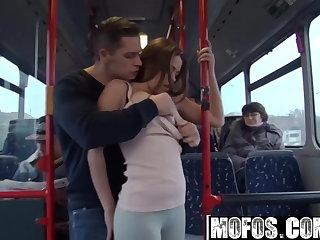 Mofos B Sides - Bonnie - Public Sex City Bus Footage - Mofos