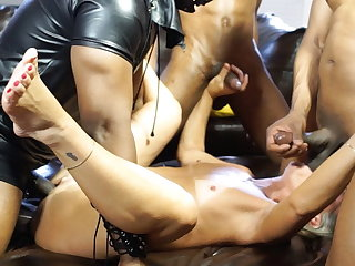 Asian Leilani Lei First Gang Bang