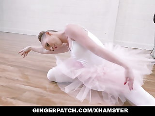 Rimjob GingerPatch- Ginger Ballerina Athena Rayne Fucks Dance Judge