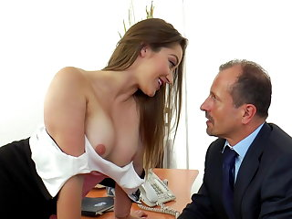 Cum in Mouth GEORGE - OFFICE FUCK