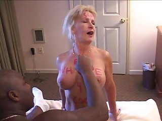 Brand My Wife - SLUTTY WIFE OWNED BY BLACK MEN - PREVIEW