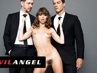 Spandex EvilAngel: I Am Riley Double Penetration Scene