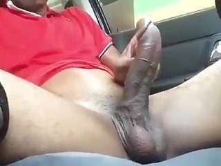 Car Busting Nuts In the Car