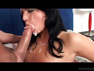 Rimjob Peter North - Cock Worship and Cum Compilation