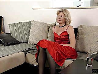 Titty Fucking Lustful deaf-mute Russian grandma Diana... 1