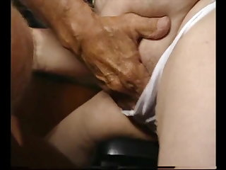 Swingers Curly brown-haired German granny, ONLY HER