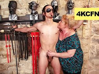 BDSM Fat Grandma Finally Lost It - FemDom