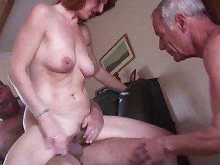 Bisexuals Amateur mature cuckold threesome 1
