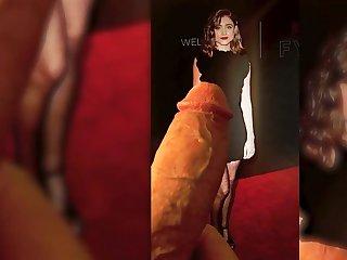 Natalia Dyer - black dress - Cum Tribute 6 Natalia Dyer